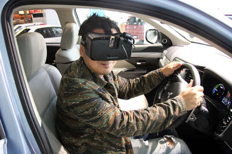 Starry Simulation Drives - Mitsubishi's Virtual Experience Takes Drivers to the Stars