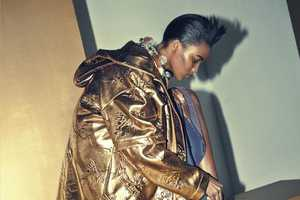 The Elle France La Doree Photoshoot Hones in on Gold Apparel