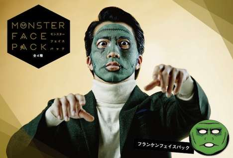 Freaky Face Masks - These Beauty Face Masks Mimic Iconic Monsters