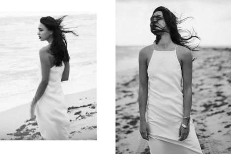 Sensual Seaside Portraits - The Glamourai's A Fluid Geometry Story is Effortlessly Elegant