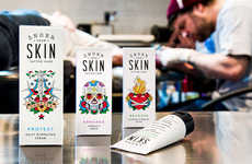 Tattoo Care Cosmetics - Under Your Skin's Specialist Tattoo Care Adopts a Hipster-Inspired Aesthetic