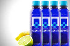Hangover-Curing Drinks - RESQWATER is a Cure for a Hangover in a Bottle