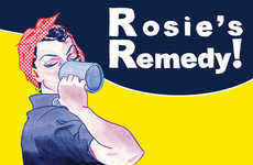 Winter Cocktail Illustrations - Rosemary's Remedy is a Drink That Will Get You Through the Winter