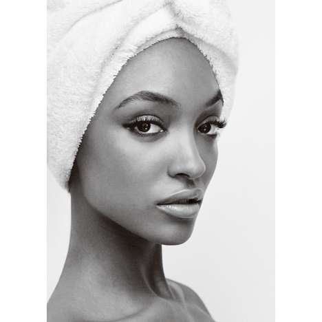 Chic Shower Photoshoots - Jourdan Dunn Stars in the 58th Edition of Mario Testino's Towel Series