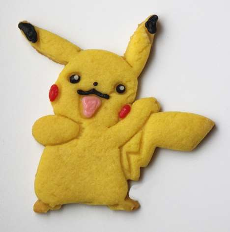 Anime Monster Cookies - These Delicious Pikachu Cookies are Perfect for Fans of the Show