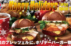 Festive Feast Burgers - Turkey and Mashed Potatoes on a Bun is Wendy's Holiday Food