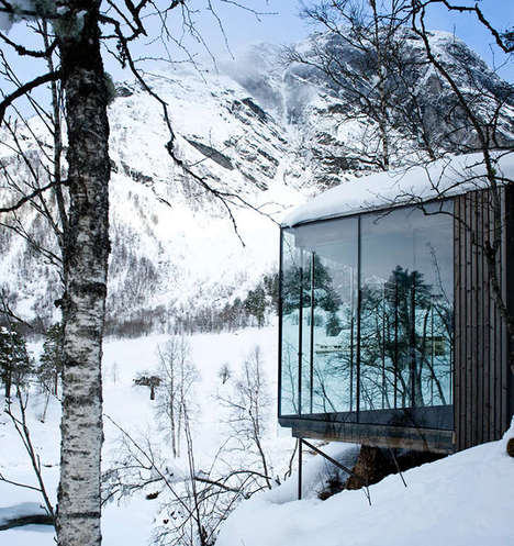 Secluded Nature Cabins - The Juvet Landscape Hotel Offers a Natural Getaway