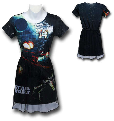 Cinematic Galaxy Dresses - This Super Chic Star Wars Dress Design is Ideal for Female Sci-Fi Fans