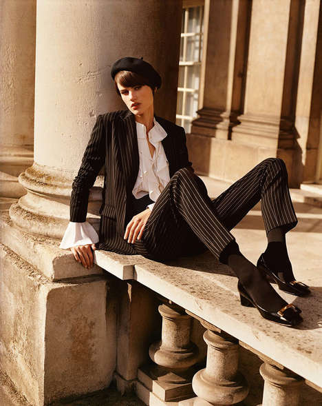 Quintessentially Parisian Photoshoots - The Vogue Paris Alasdair McLellan Editorial is All French