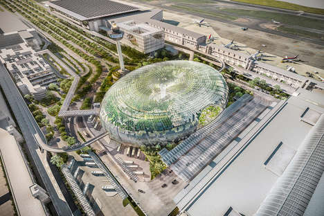 Urban Park Airports - The Singapore Changi Airport to Offer Greenery and Fresh Air for Travelers