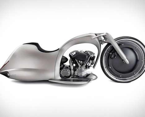 Wheel-Encased Superbikes
