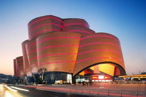 Indoor Movie Theme Parks - The Wanda Movie Park by Stufish Entertainment Architects is a World First