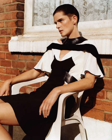 Gender Bending Editorials - The 032C Alasdair McLellan Photoshoot Switches Up Male and Female Looks