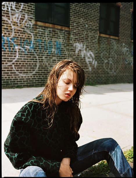 Glamorous Grunge Editorials - The Twin Magazine Matteo Montanari Photoshoot is Upscale and Urban