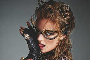 The Numero Magazine Greg Kadel Photoshoot Displays Chic Dress Up Looks