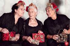 Nonna Fashion Ads - The Dolce & Gabbana Campaign Star Scene-Stealing Grandmothers