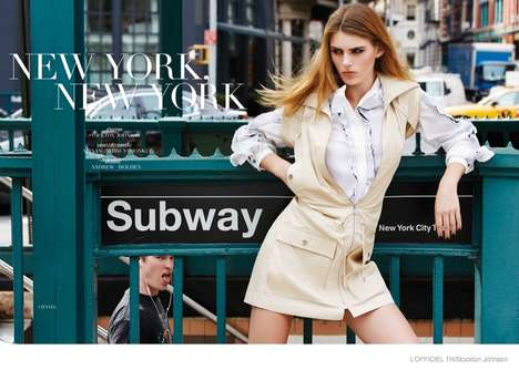 Dynamic City Editorials - The Latest L'Officiel Thailand Cover Shoot Stars Model Madison Headrick