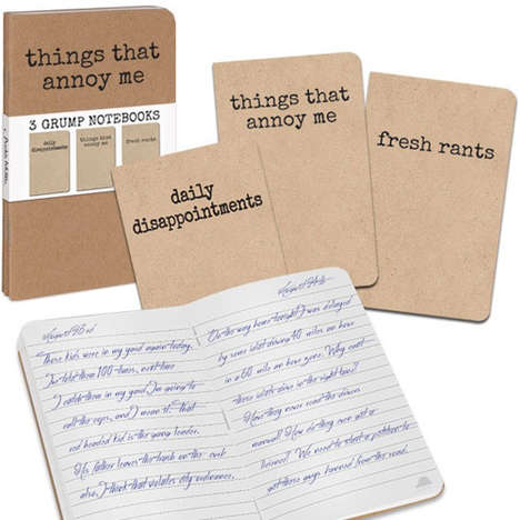 Uninspirational Stationery Sets - This Grumpy Notebook Set is Perfect for Cynical Consumers