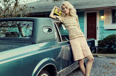 60s Easter Egg Editorials - The Elle Singapore Brighter Days Photoshoot is Retro and Pale-Hued