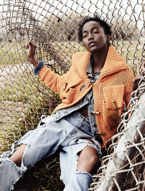 Eccentric Urbanite Editorials - The Styleby Winter Why Should I Feel Lonely Photoshoot is City Chic