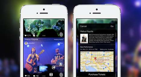 Live Music-Buying Apps - This Music Social Network Makes Supporting Bands and Artists Easier