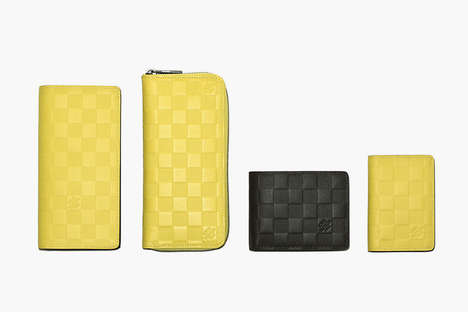 Vibrant Luxury Leather Goods - The Louis Vuitton Damier Infini Gets a Chromatic Update