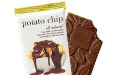 The Chuao Potato Chip Chocolate Bar Marries Two Favorite Snacks