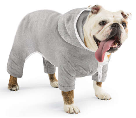 Pooch Workout Gear - The Doggie Hooded Jogging Suit is Perfect for Colder Weather Workouts
