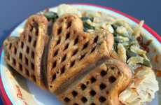 Tantalizing Turkey Waffles - This Unusual Breakfast Dish is Filled with a Savory Surprise