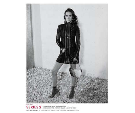 Bohemian Actress Fashion Campaigns - The New Louis Vuitton Series 2 Shoot Features Jennifer Connelly