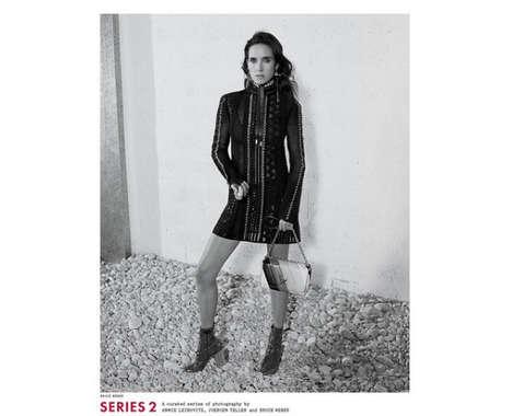 Bohemian Actress Fashion Campaigns