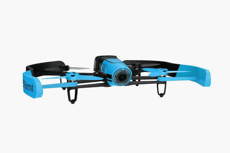 Affordable Photography Drones - The Parrot Bebop is Competitively Priced for All to Enjoy