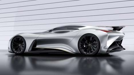 Curvaceous Concept Cars - The Concept Vision Gran Turismo is Part Beauty and Part Beast
