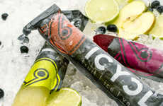 Frozen Adult Beverages - Icycl Vodka Ice Pops Give Grownups a Childish Way to Enjoy Alcohol