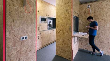 Pop-Up Bachelor Pads - TallerDE2 Arquitectos is Reimagining the Humble Bachelor Pad