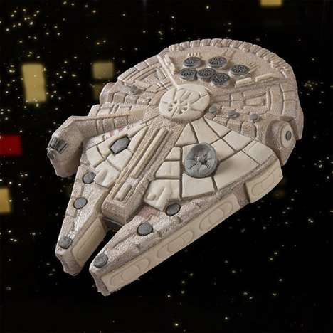 Intergalactic Dessert Dishes - The Star Wars Millennium Falcon Cake Pan is Perfect for Fans
