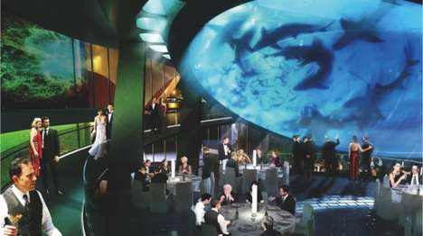 Gigantic Concrete Aquariums - The Gulf Stream Tank Holds 500,000 Gallons of Water