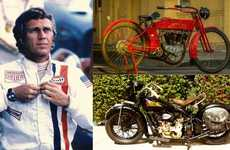 Legendary Motorcycle Auctions - The Upcoming Steve McQueen Auction Comprises Legendary Motorbikes