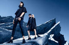 The Hugo by Hugo Boss Fall/Winter Advertisements Display Mountain Peaksm
