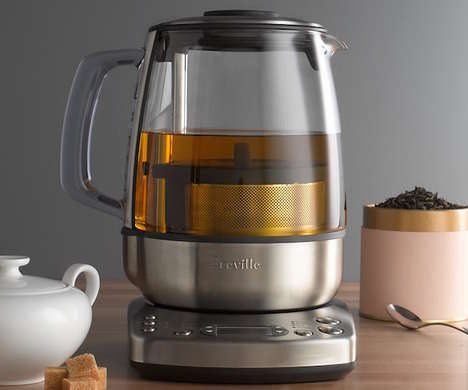 Automatic Tea Brewers - The Breville One-Touch Tea Maker Steeps the Perfect Cup Every Time