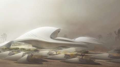 Arabian Architectural Projects - The Bee'ah Headquarters in Sharjah Will Be Fully Energy Efficient
