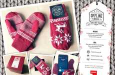 Anti-Tech Mittens - These Funny Winter Mittens Delivery Protection Against the Cold & Technology