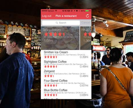 Restaurant Server-Rating Apps