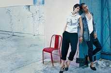 The Current Bottega Veneta Advertisements Display Illuminated Scenes