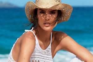 The Vogue Brazil Alessandra Ambrosio Photoshoot is Western-Themed
