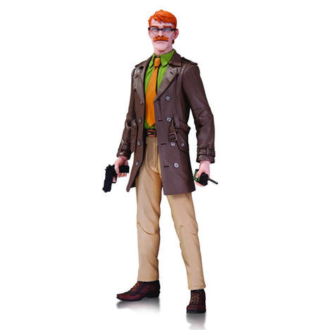 Chief Commissioner Figurines - This James Gordon Action Figure is a Batman Collectible