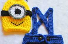 Crochet Minion Costumes - This Adorable Knit Outfit Transforms a Baby Into a Despicable Me Villain