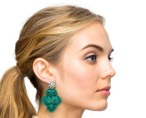 Porcelain Ear Adornments