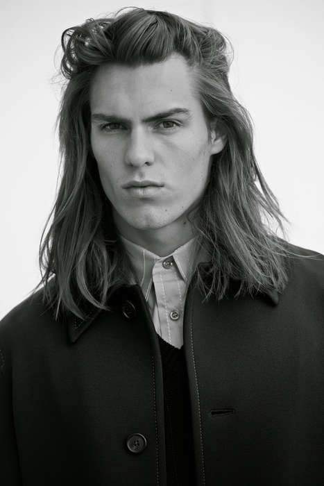 Grunge Gentleman Editorials - At Large Magazine's 'The Minimalist' Story Boasts Functional Menswear