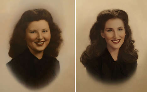 Recreated Retro Photography - Christine McConnell Duplicates a Series of Old Family Photographs